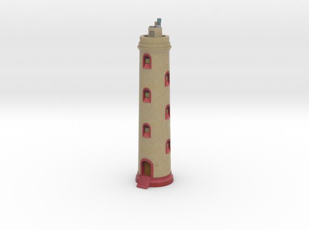 Boka Spelonk Lighthouse in Full Color Sandstone