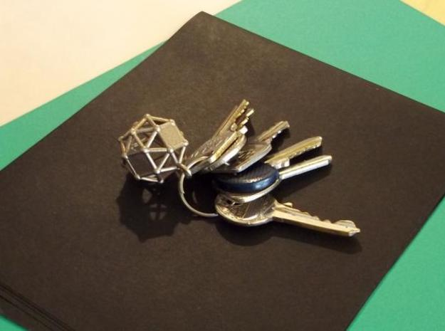 Simus keyholder 3d printed Steel print - Photo 1