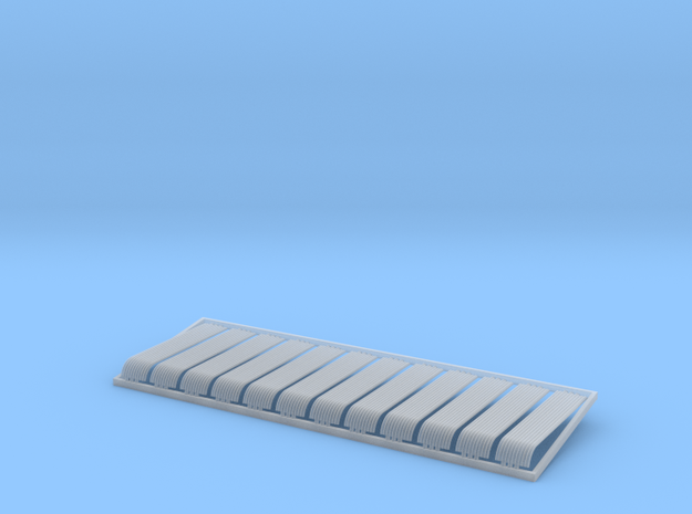 HO 12x10ft Bullnose Corrugated Iron Sheets