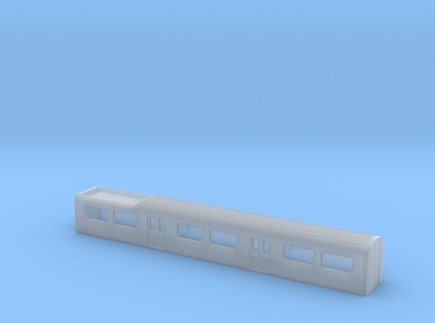 N Gauge Mk 3 EMU PTS 1:148 in Smooth Fine Detail Plastic
