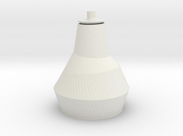 URN Babel in White Natural Versatile Plastic