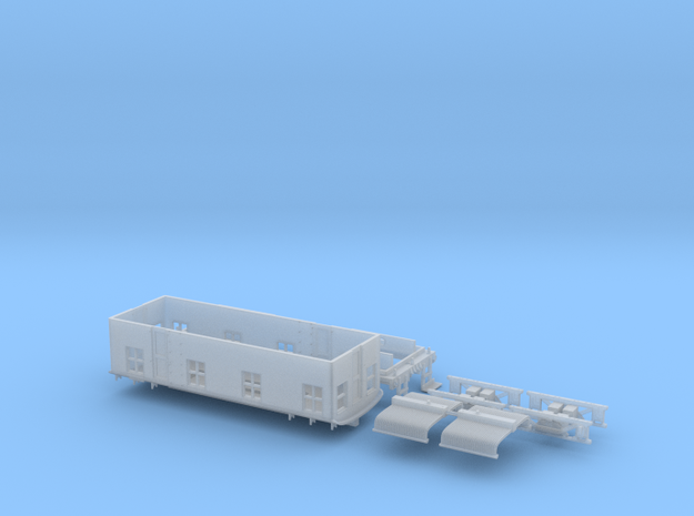 N Scale Ingersol Boxcab