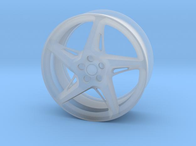 Ferrari 458 Wheel in Smooth Fine Detail Plastic