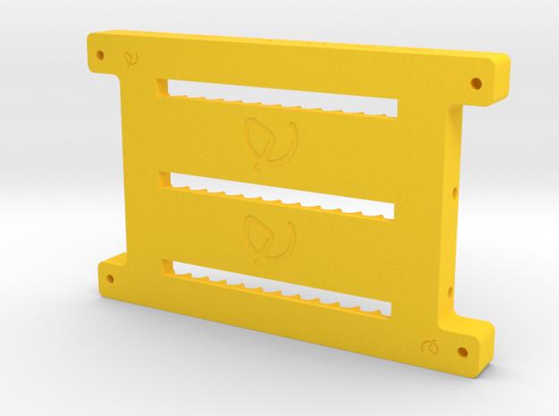 BASE SOPORTE HABTASABHD in Yellow Processed Versatile Plastic
