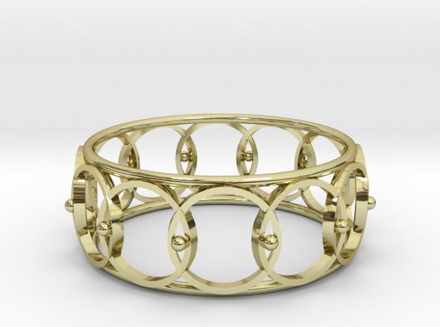 Circle Cuff in 18k Gold