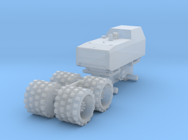 1:64 Trench compactor  in Smooth Fine Detail Plastic