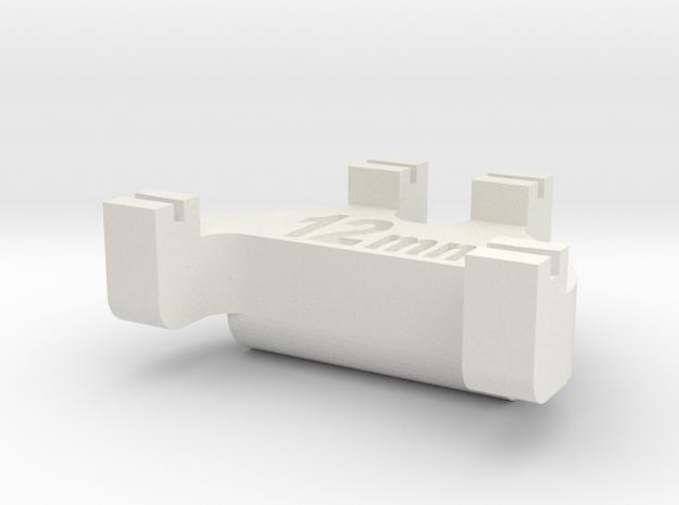 HOn3½ Track Gauge - Code 55 in White Natural Versatile Plastic