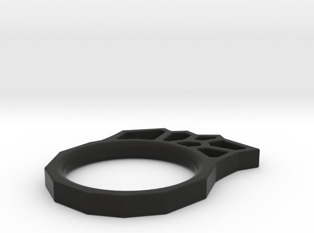 Sponge ring in Black Strong & Flexible