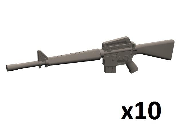 1/35 M16A1 rifles