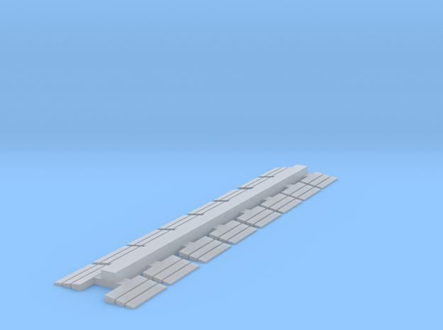 Schlauchbrücke 16 Stk in Smoothest Fine Detail Plastic