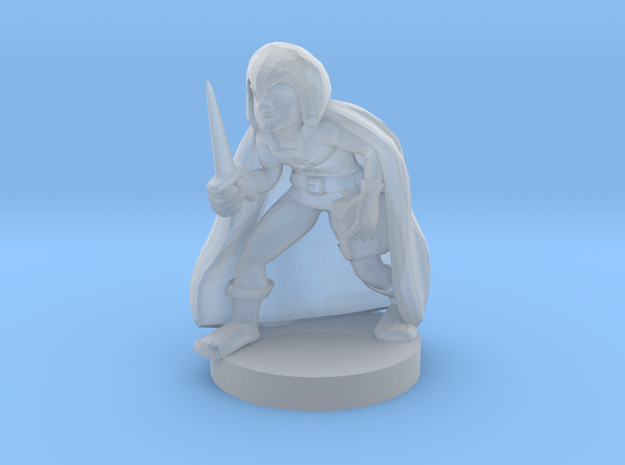 Gnome Male Rogue in Frosted Ultra Detail