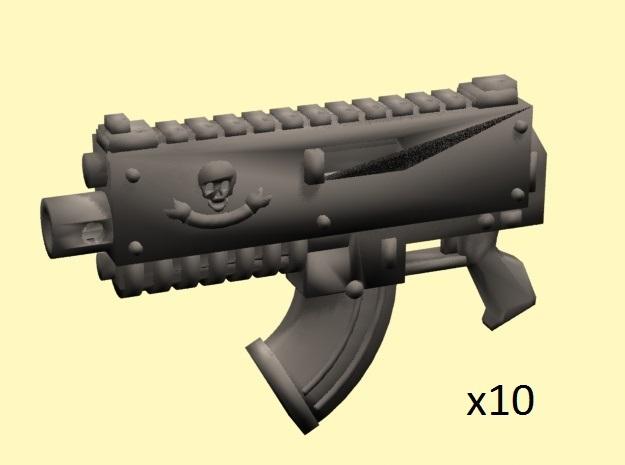 SciFi Gyrojet guns (10)