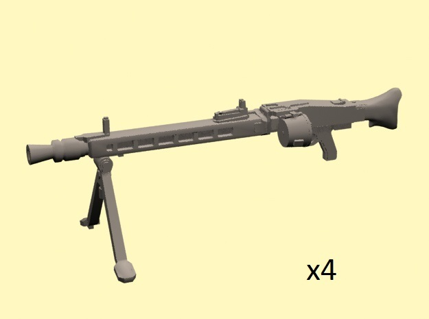 28mm MG-42 enlarged with drum (x4)