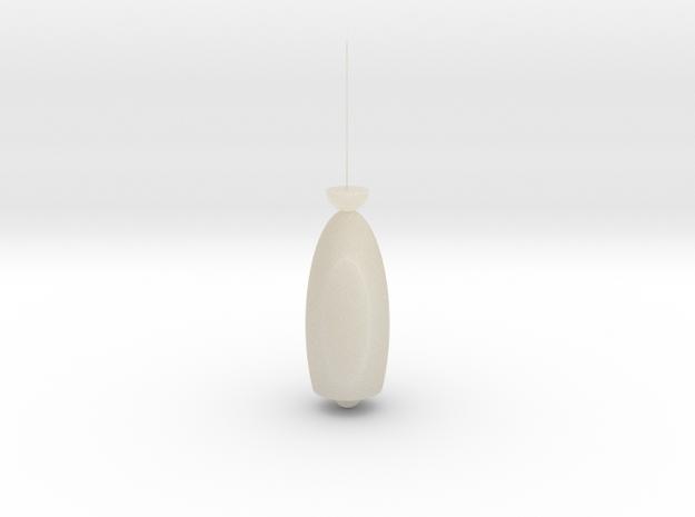 雞蛋吊燈 in White Acrylic