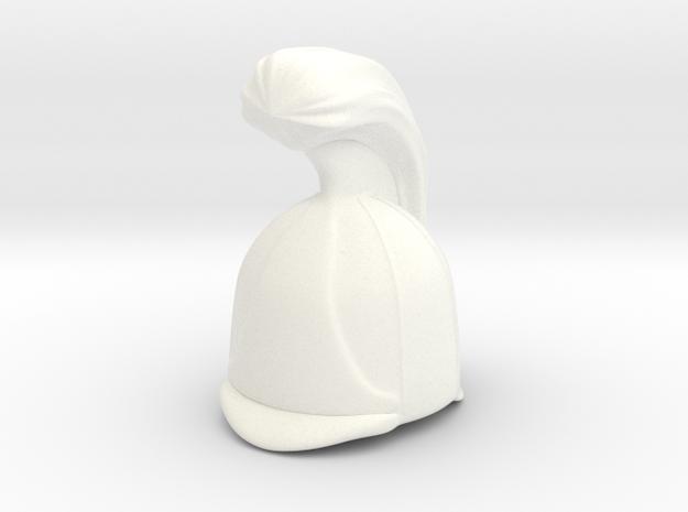 Russian Cuirassier in White Processed Versatile Plastic