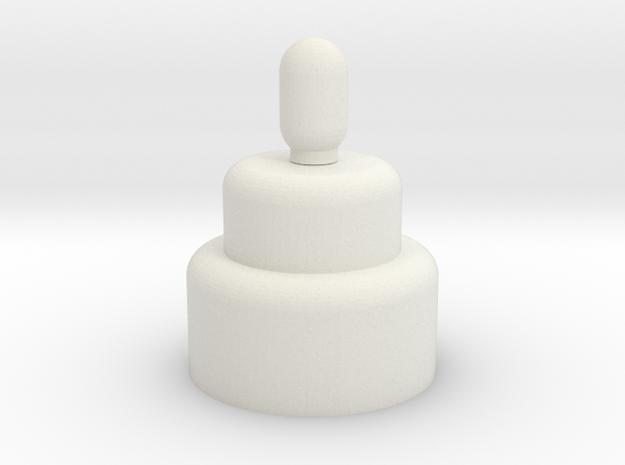 cake in White Strong & Flexible: Medium