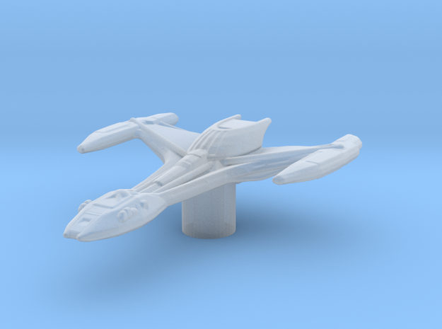 Klingon Raptor 1/7000 Attack Wing in Frosted Ultra Detail