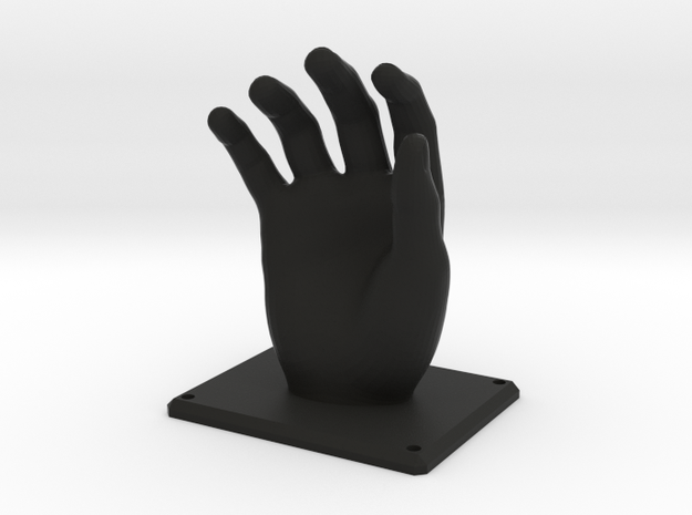 Hand Hanger in Black Natural Versatile Plastic