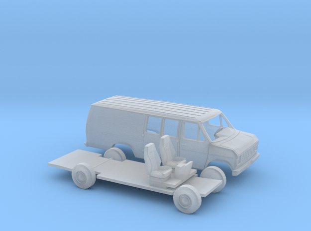 1/87 1975-91 Ford E Series Ext. Delivery Kit in Smooth Fine Detail Plastic