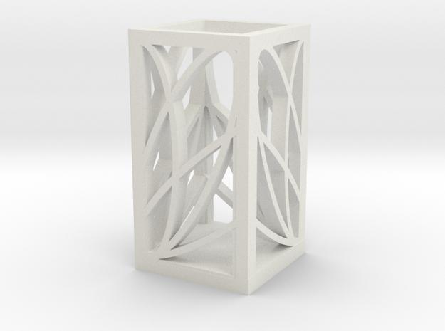 2 in White Natural Versatile Plastic: Medium