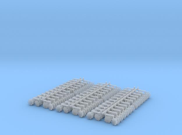 Orthman Bedder Units (72) in Smooth Fine Detail Plastic