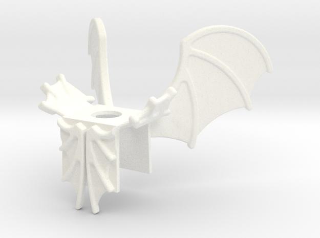 Drago in White Processed Versatile Plastic