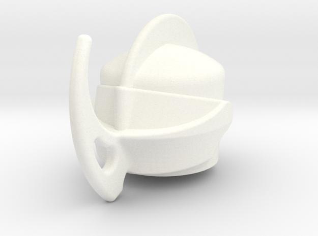 Axeb in White Processed Versatile Plastic