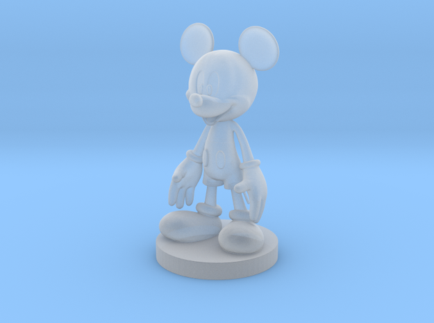 Mickey Mouse in Smoothest Fine Detail Plastic