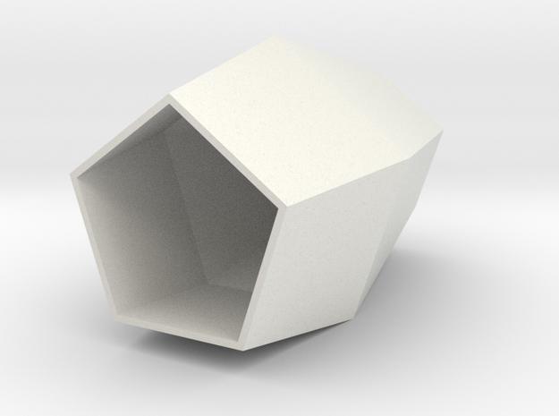 Element in White Natural Versatile Plastic