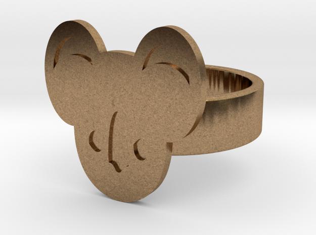 Koala Ring in Natural Brass: 10 / 61.5