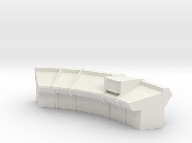 Console Type 15 (Star Trek) in White Natural Versatile Plastic: 1:30
