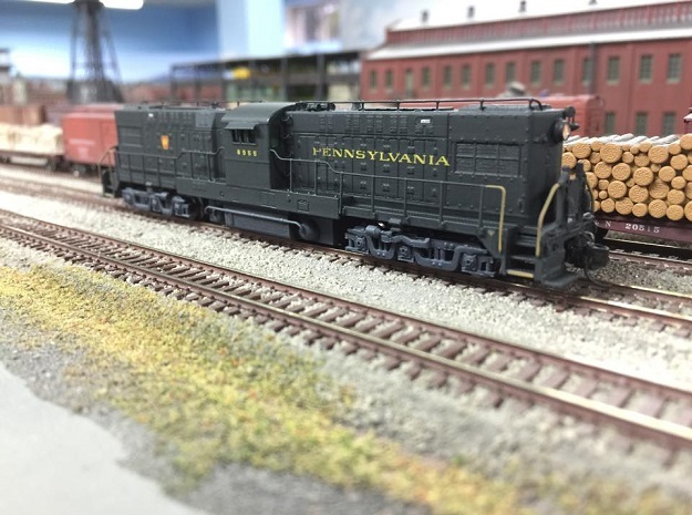Baldwin RT-624 Center Cab N Scale 1:160