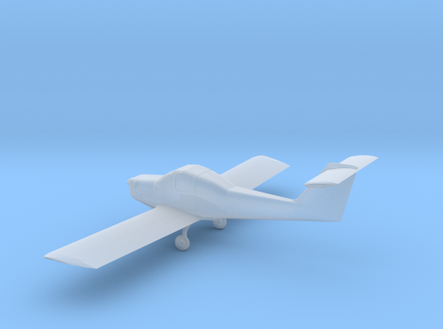 Piper Tomahawk - 1:144scale in Frosted Ultra Detail