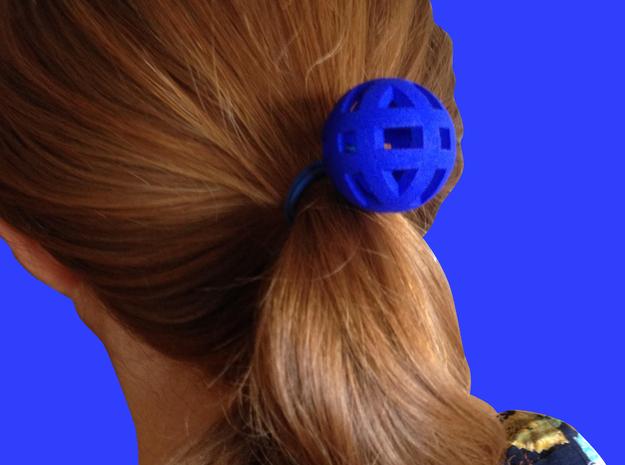 Circubo Elastic Band in Blue Processed Versatile Plastic