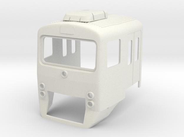 Wadloper Kop (1:43.5) in White Natural Versatile Plastic