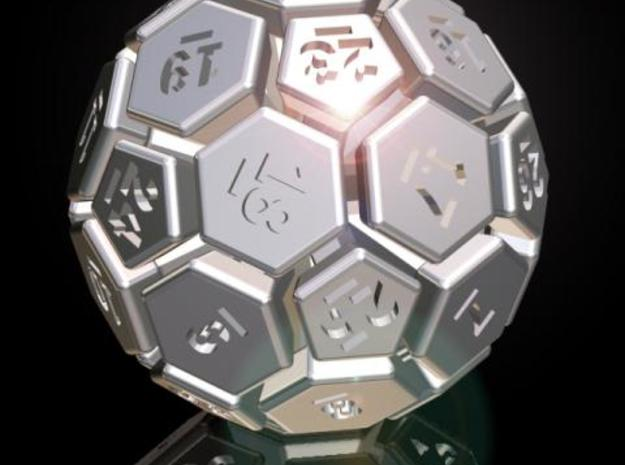 32-BIT SOCCER BALL DIE 3d printed Description