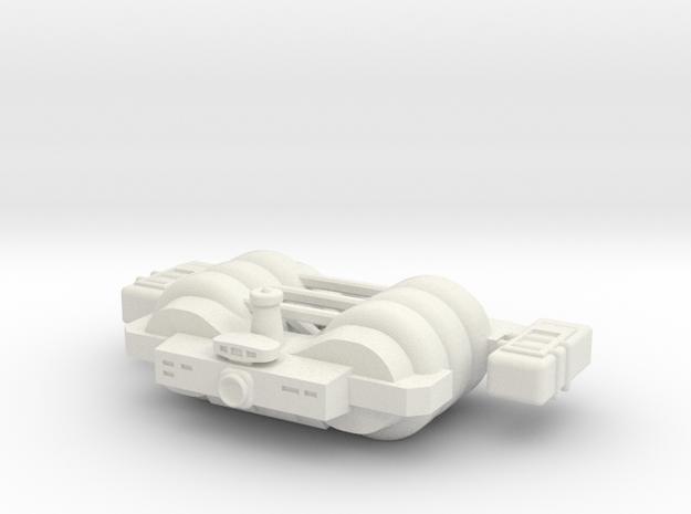 Omni Scale General Large Skid Utility Ship SRZ in White Natural Versatile Plastic