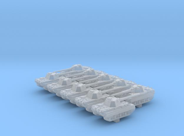1/600 German Panther (8.8cm L71) Concept Tank x10 in Smoothest Fine Detail Plastic