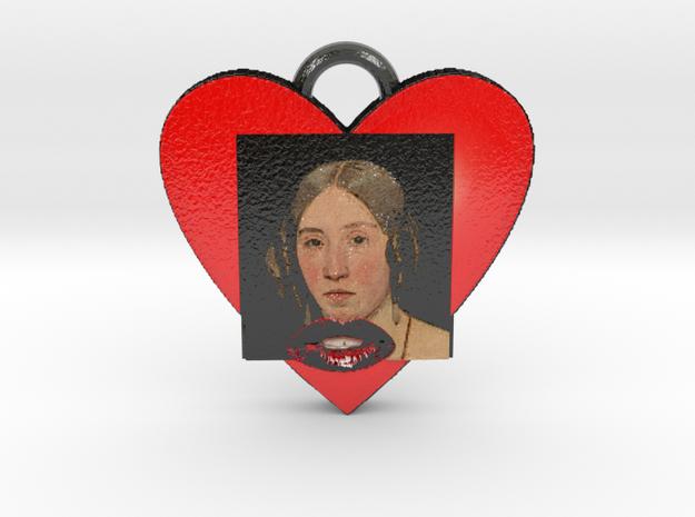 """Christen Købke""""My sister in love""""Necklace-""""SMK"""" in Glossy Full Color Sandstone"""