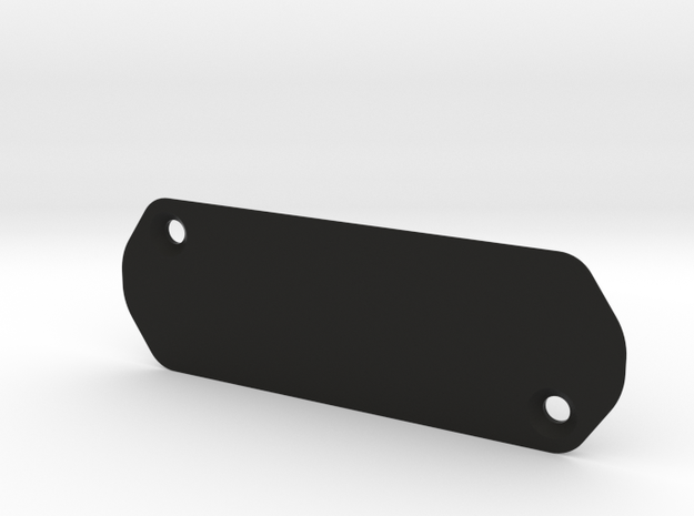 Madone etap cover plate in Black Strong & Flexible