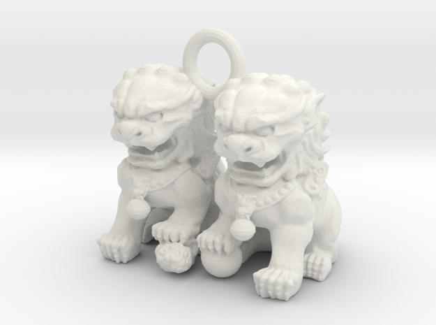 chinese dragon in White Strong & Flexible