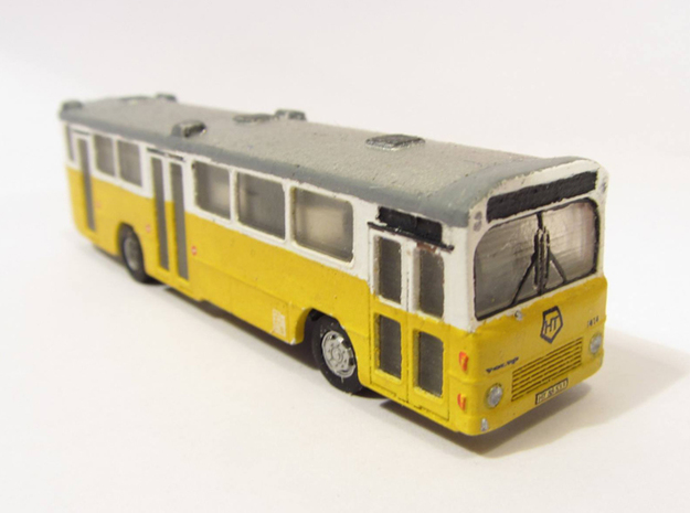 Volvo B10m HT Bus 2-2-1 N scale in Smooth Fine Detail Plastic