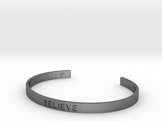 Believe Engrave Bracelet Sizes S-L