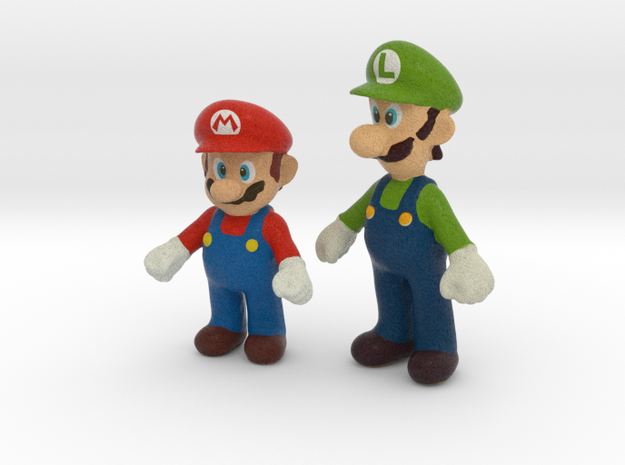 1/12 Mario Brothers Color