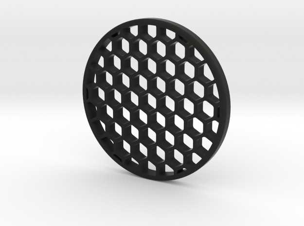 Honeycomb KillFlash 57mmD 5.9mmClearance 5mmT 1.2m in Black Natural Versatile Plastic