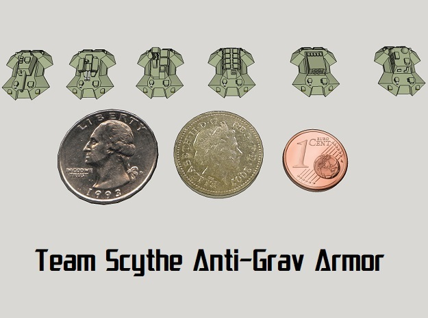 """Team Scythe"" 3mm Anti-Grav Armor Sample Pack"