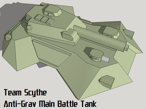 """Team Scythe"" 3mm Anti-Grav Tank Pack (24pcs) in Frosted Ultra Detail"