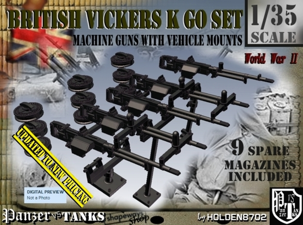 1/35 Vickers K GO Set001