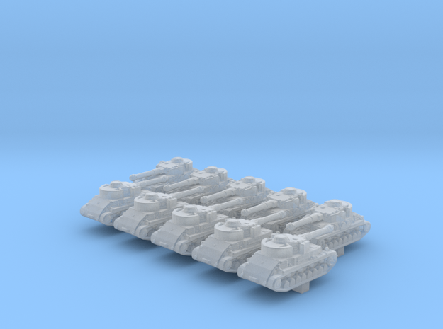 1/ 700 German Pz.Kpfw.IV Ausf.G Hydrostatic x10 in Smoothest Fine Detail Plastic