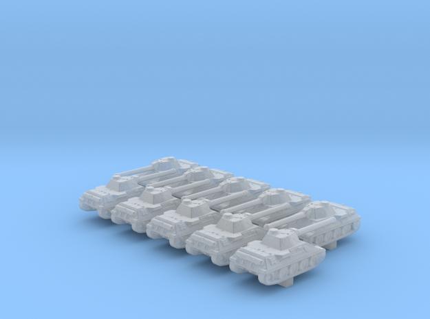 1/600 German VK 30.02 (D) Medium Tank x10 in Smoothest Fine Detail Plastic